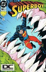 DC Comics's Superboy Issue # 10b