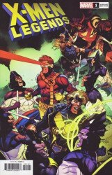 Marvel Comics's X-Men: Legends Issue # 1f