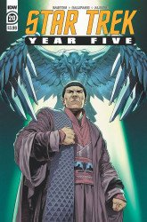 IDW Publishing's Star Trek: Year Five Issue # 20
