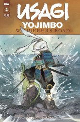 IDW Publishing's Usagi Yojimbo: Wanderers Road Issue # 4