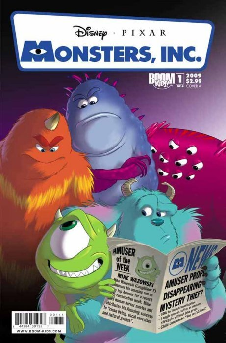 Monsters Inc Laugh Factory 4 Boom Kids