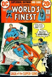 DC Comics's World's Finest Comics Issue # 215