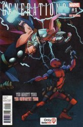 Marvel Comics's Generations: Unworthy Thor & Mighty Thor Issue # 1gamestop