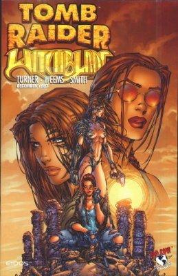 Tomb raider witchblade 5 top cow comicbookrealm com