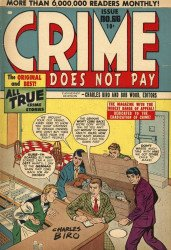 Lev Gleason Publications's Crime Does Not Pay Issue # 66b