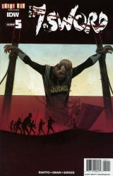 IDW Publishing's The 7th Sword Issue # 5