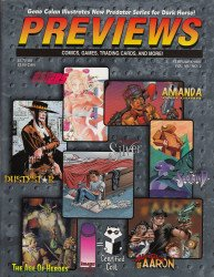 Diamond Comics Distribution's Previews Issue # 101