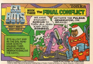 Western Printing Co.'s Go-Bots Issue # 3