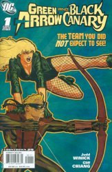DC Comics's Green Arrow and Black Canary Issue # 1