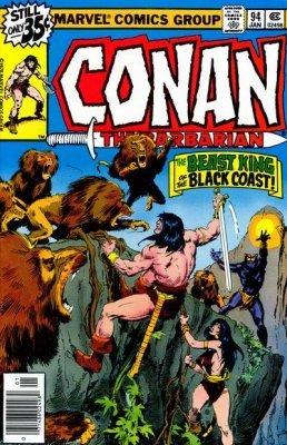 Marvel Comics 1994 CONAN: THE ADVENTURER #1-3 Ongoing Series Set Lot Run
