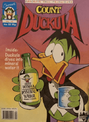 Celebrity Comics's Count Duckula Issue # 32