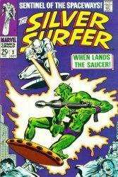 Marvel Comics's Silver Surfer Issue # 2
