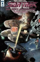 IDW Publishing's Star Trek: The Next Generation - Mirror Broken Issue # 4