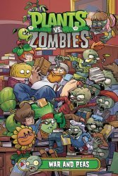 Dark Horse Comics's Plants vs Zombies: War And Peas Hard Cover # 1