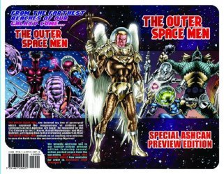 Outer Space Men LLC's Outer Space Men Issue ashcan
