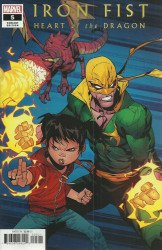 Marvel Comics's Iron Fist: Heart of the Dragon Issue # 5b