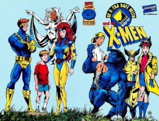 Marvel Comics's Be X-tra Safe with Blockbuster and the X-Men Special nn