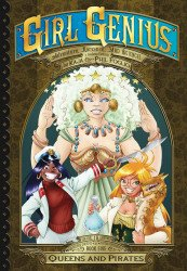 Airship Entertainment's Girl Genius: Second Journey of Agatha Heterodyne Hard Cover # 5