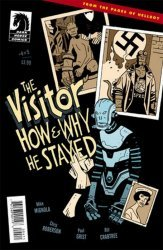 Dark Horse Comics's The Visitor: How and Why He Stayed Issue # 4