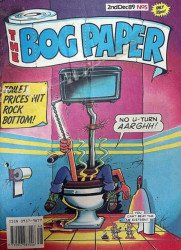 Marvel UK's The Bog Paper Issue # 5