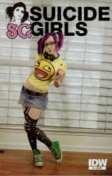 IDW Publishing's Suicide Girls Issue # 1re
