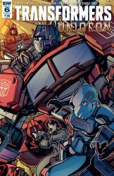 IDW Publishing's Transformers: Unicron Issue # 6b