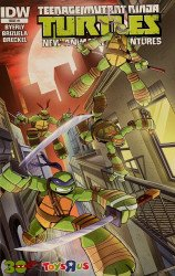 IDW Publishing's Teenage Mutant Ninja Turtles: New Animated Adventures Issue # 1toy r us