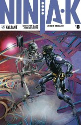 Valiant Entertainment's Ninja-K Issue # 8c