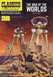 Classics Illustrated's Classics Illustrated: The War of the Worlds Hard Cover # 1