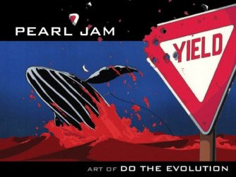 IDW Publishing's Pearl Jam: Art of Do the Evolution Hard Cover # 1