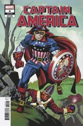 Marvel Comics's Captain America Issue # 4b