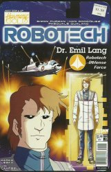 Titan Comics's Robotech Issue # 15b