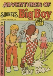 Paragon Products's Adventures of Shoney's Big Boy Issue # 44