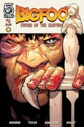 Action Lab Entertainment's Bigfoot: Sword of the Earthman Issue # 6