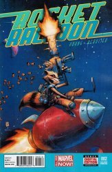 Marvel's Rocket Raccoon Issue # 2c