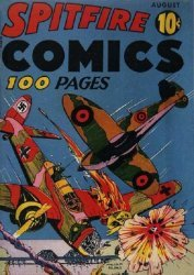 Harvey Publications's Spitfire Comics Issue # 1