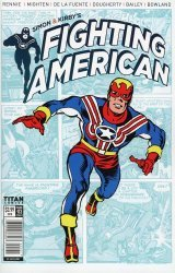 Titan Comics's Fighting American Issue # 3c