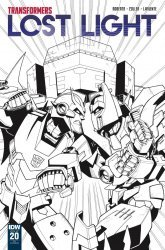 IDW Publishing's Transformers: Lost Light Issue # 20ri