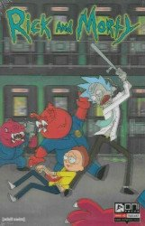Oni Press's Rick and Morty Issue # 1g