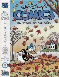 Gladstone's Carl Barks Library of Walt Disney's Comics and Stories in Color Issue # 41
