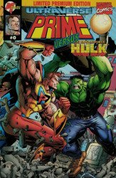 Malibu Comics's Prime vs the Incredible Hulk Issue # 0