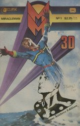 Eclipse Comics's Miracleman: 3-D Issue # 1b