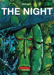 Titan Comics's Philippe Druillet's The Night (La Nuit) Hard Cover # 1