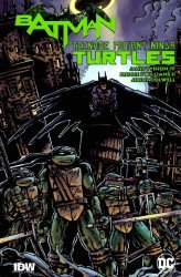 IDW Publishing's Batman / Teenage Mutant Ninja Turtles Adventures Hard Cover # 1bcc