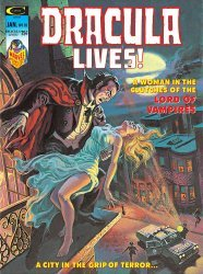 Curtis Comic Inc's Dracula Lives! Issue # 10