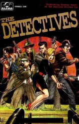 Alpha Productions's The Detectives Issue # 1b
