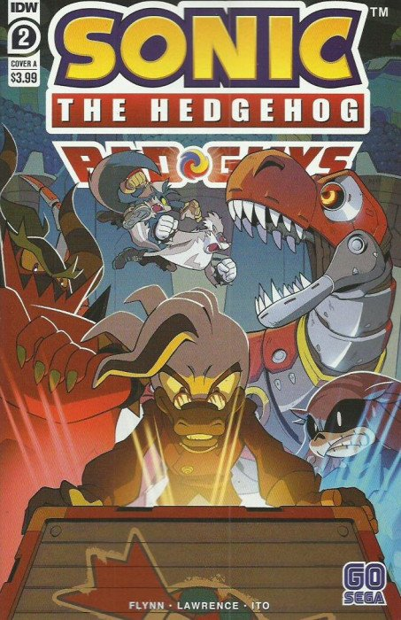 Sonic The Hedgehog The Bad Guys Comic Lot 1-4 1 2 3 4 IDW 2020 4 Comic Lot Run