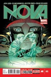 Marvel Comics's Nova Issue # 5