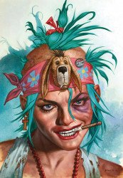 Titan Comics's Tank Girl: Forever Issue # 4b
