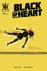 Source Point Press's Black Of Heart Issue # 1